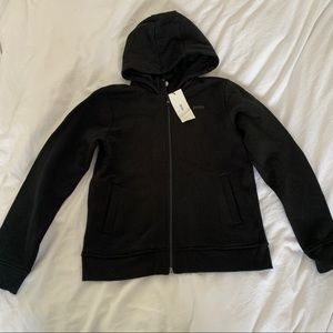 Hugo Boss Black Logo Zip Up Sweater